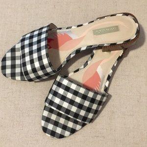 Louise et Cie gingham sandals